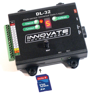 Innovate DL-32 (32 Channel Vehicle-Mounted Data- Logging System)