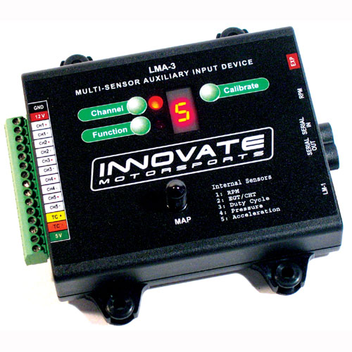 Innovate LMA-3: AuxBox (Multi-sensor Device)